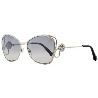 Roberto Cavalli RC1062 Gavorrano 16C Womens Palladium/Black 58 mm Sunglasses