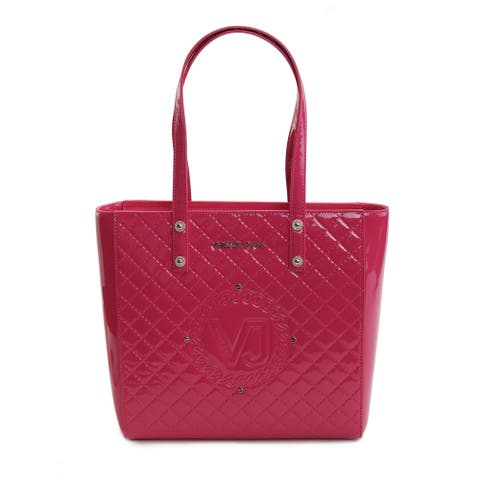 Versace Jeans Women's Argento Quilted Tote
