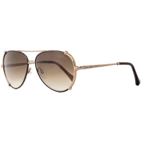 Roberto Cavalli RC1029 Casciana 34G Womens Bronze/Dark Brown 58 mm Sunglasses - Bronze/Dark Brown - Bronze/Dark Brown