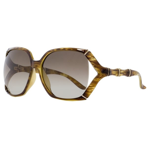 475c7ae06e9 Shop Gucci GG0505S 003 Womens Brown 58 mm Sunglasses - Free Shipping Today  - Overstock - 28596613