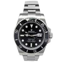 Pre-owned 40mm Rolex Stainless Steel Oyster Perpetual Submariner Watch - N/A - N/A