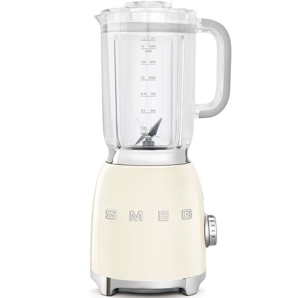 Smeg 50's Retro Style Aesthetic Blender Cream