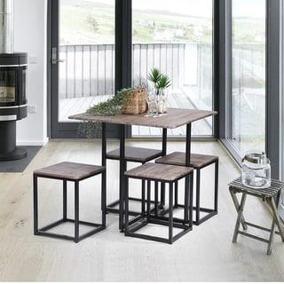 Carbon Loft Manila 5-piece Dining Table Set