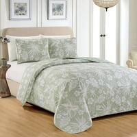 Cyrus Collection 3 Piece Reversible Quilt Set with Shams