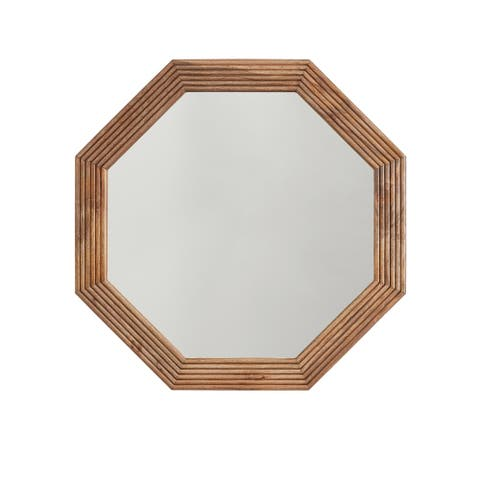 Desert Wood Framed Mirror
