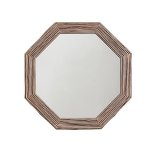 Light Grey Wash Wood Framed Mirror - Light Grey Wash