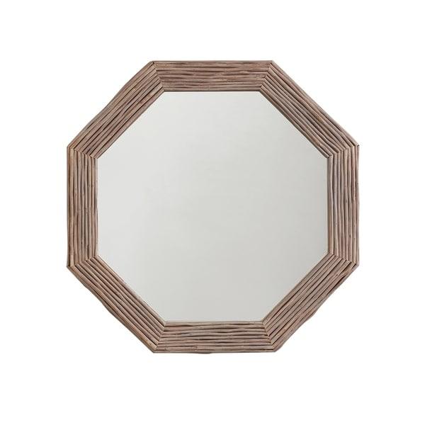 Light Grey Wash Wood Framed Mirror - Light Grey Wash