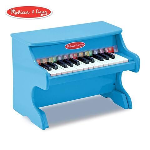 Melissa & Doug - Learn-to-Play Piano - blue
