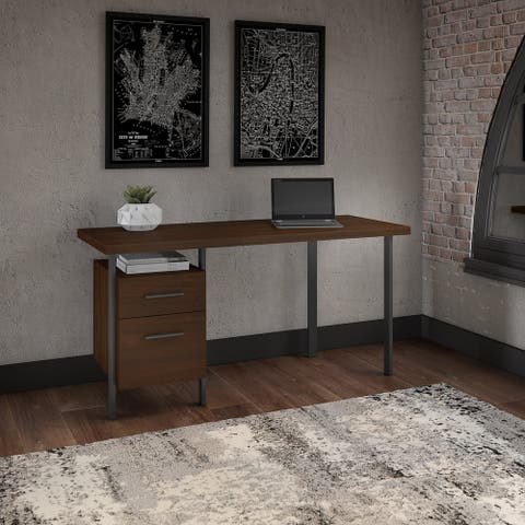 Copper Grove Adelphi Writing Desk with Drawers