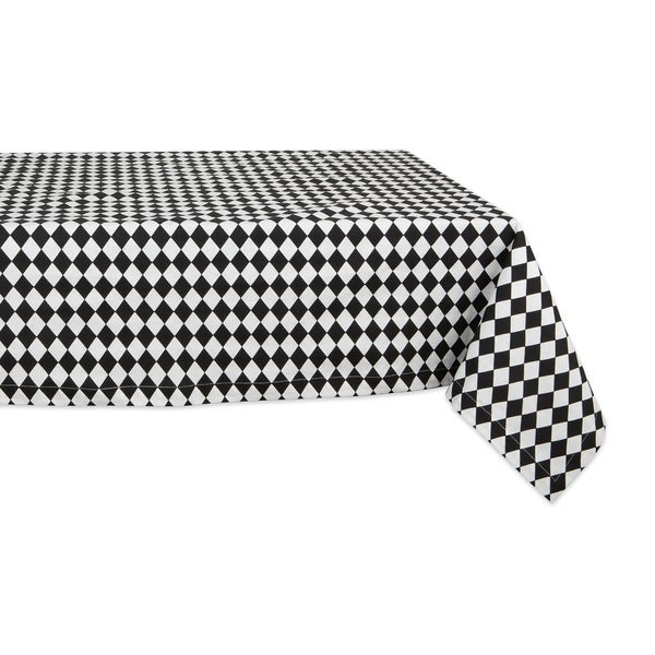 DII Lemon Bliss Print Tablecloth 70 Round