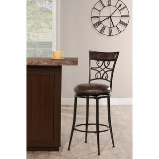 Link to Seville Swivel Stool - Brown Shimmer (As Is Item) Similar Items in As Is