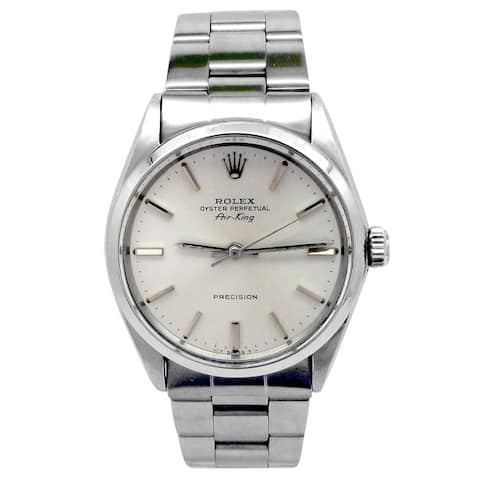 Pre-owned 34mm Rolex Stainless Steel Oyster perpetual Airking Watch - N/A - N/A