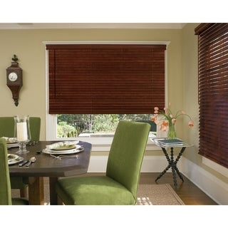 """Link to 2"""" Cordless Fauxwood in Wood Tones Similar Items in Blinds & Shades"""