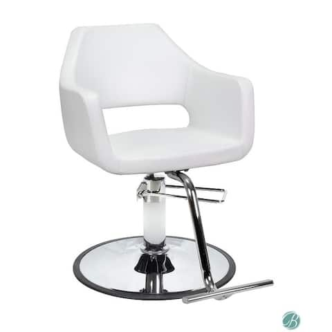 Salon Styling Chair RICHARDSON White for Beauty Salon Furniture & Equipment