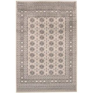 Handmade Bokhara Grey Rug - ECARPETGALLERY - 8'0 x 10'0