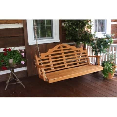 Bintuni 5-foot Pine Marlboro Style Outdoor Swing by Havenside Home