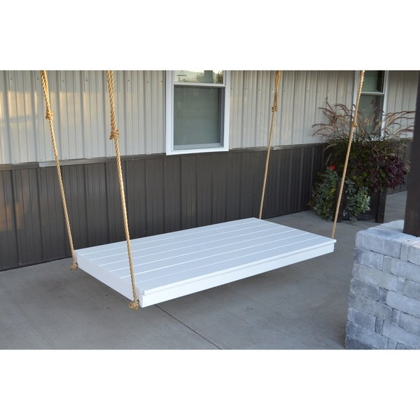 Twin Size Outdoor Hanging Bed in Newport Style. Opens flyout.