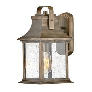 Link to Hinkley Grant 1-Light  in Burnished Bronze Similar Items in Pier Mount Lights