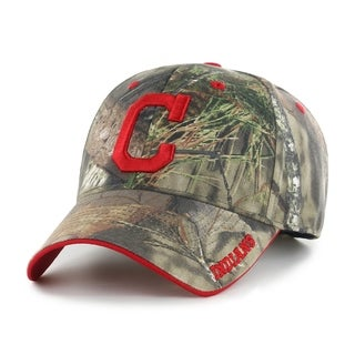 Fan Favorite MLB Cleveland Indians Mossy Oak Adjustable Hat Multi Color