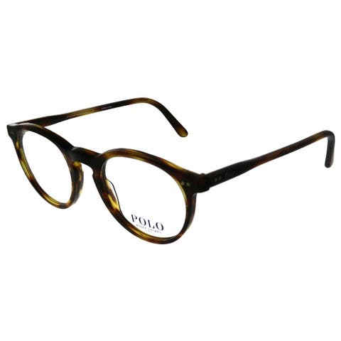 Polo Ralph Lauren PH 2083 5007 46mm Unisex Havana Striped Frame Eyeglasses 46mm
