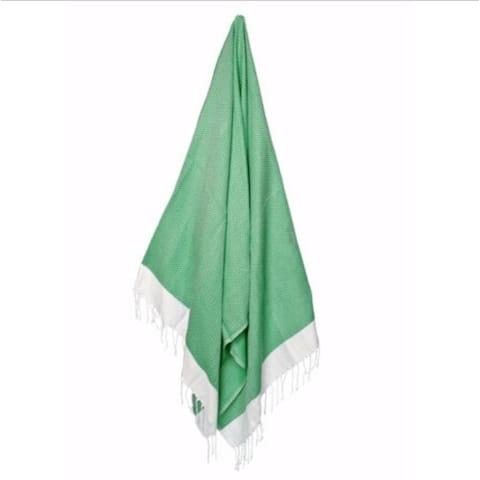 """Green Weave Turkish Peshtemal Towel 72"""" x 31"""""""