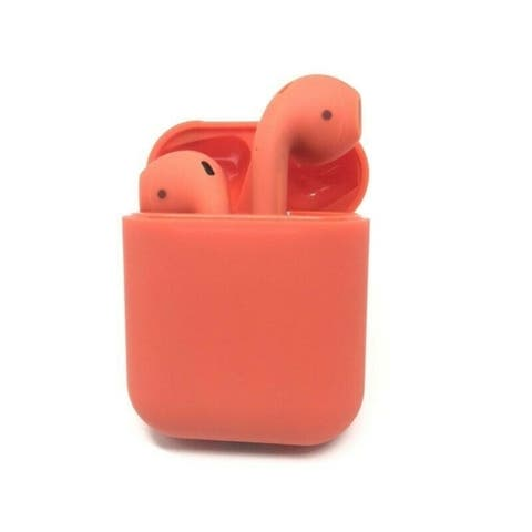 Wireless Touch Control Built-in Mic Auto-pairing Headset Headphone Earbud with HIFI Sound Quality 300 mAh Charging Box