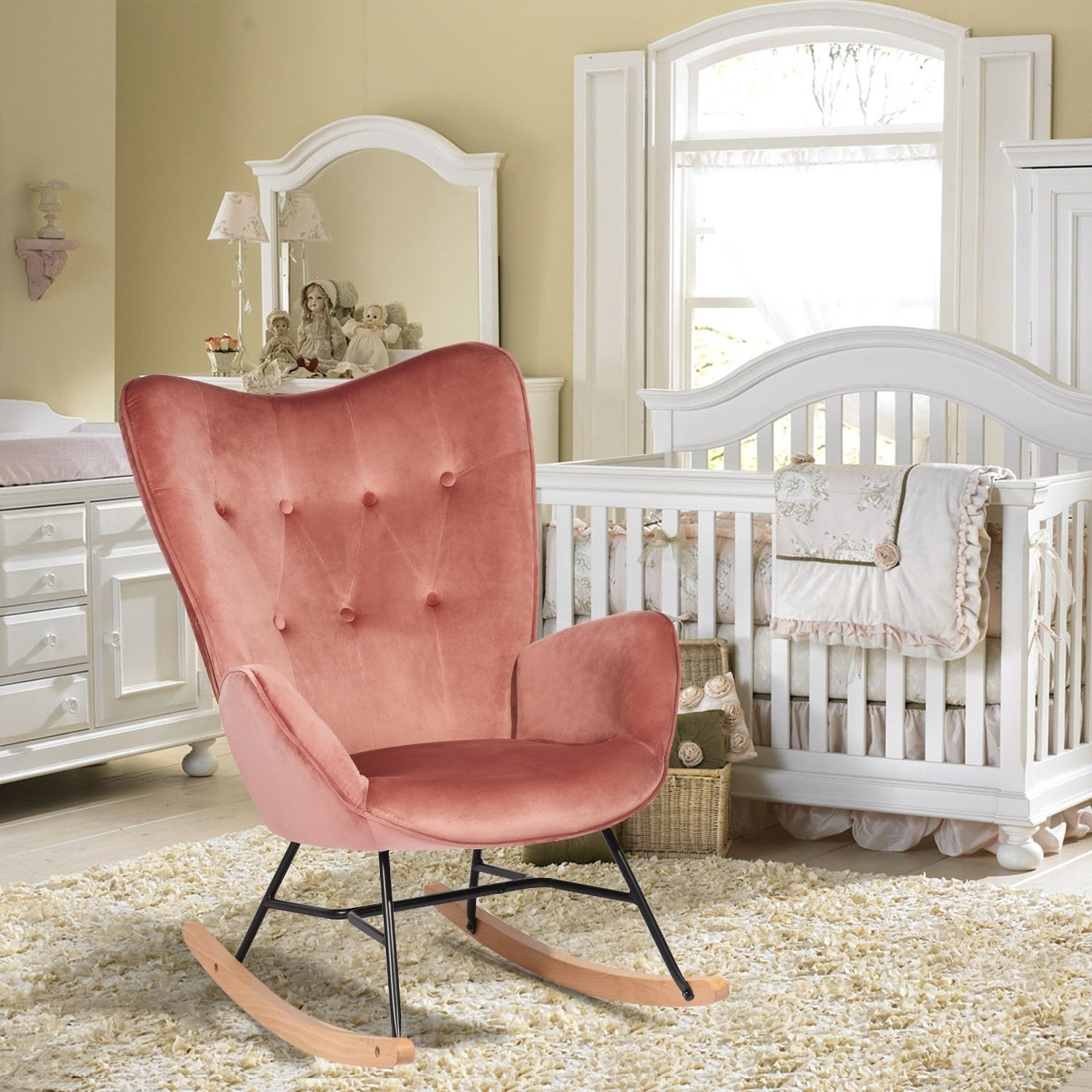 Tremendous Rocking Chairs Living Room Chairs Shop Online At Overstock Andrewgaddart Wooden Chair Designs For Living Room Andrewgaddartcom