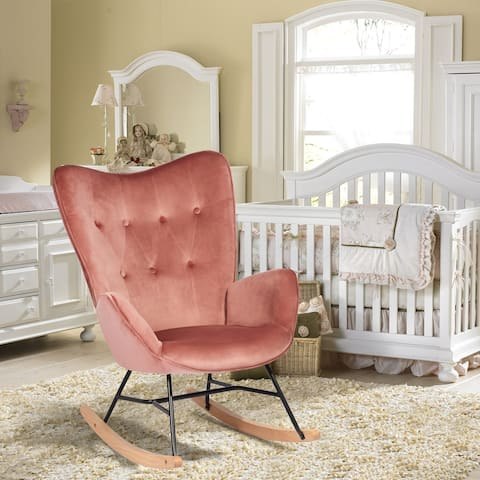 Fine High Back Rocking Chairs Living Room Chairs Shop Online Interior Design Ideas Clesiryabchikinfo