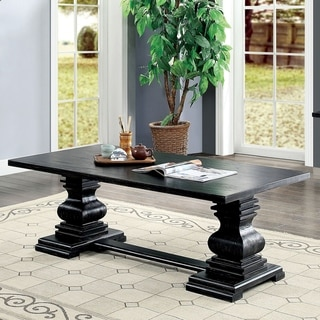 Gracewood Hollow Digish Antique Black Coffee Table