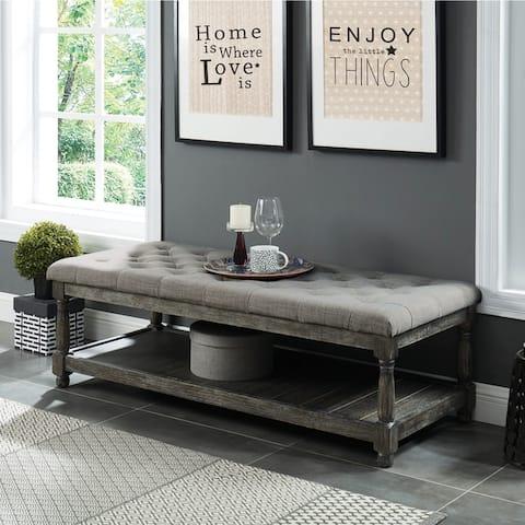 The Gray Barn Brookside Grey Bench