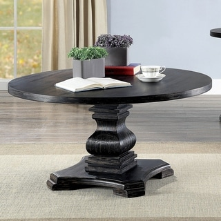 Gracewood Hollow Valles Antique Black Coffee Table