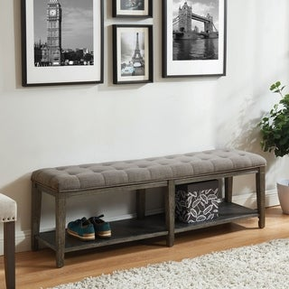 Link to The Gray Barn Beavers Point Rustic Bench Similar Items in Living Room Furniture