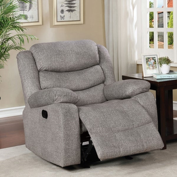 Copper Grove Izmail Light Grey Recliner