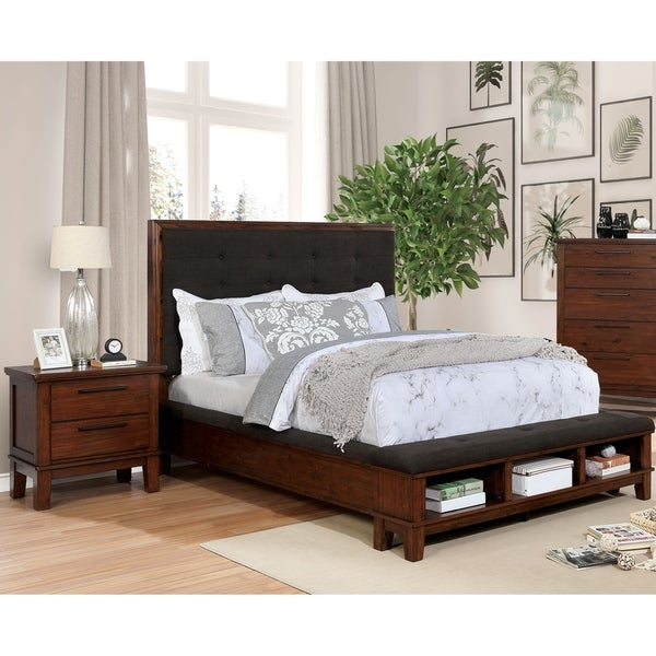 Copper Grove Shakhtarsk Rustic Brown Cherry 3-piece Bedroom Set