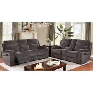 Copper Grove Novomosk Grey 2-piece Living Room Set