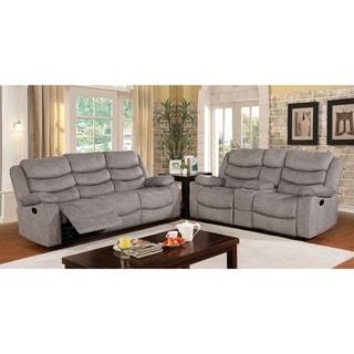 Copper Grove Izmail Light Grey 2-piece Living Room Set