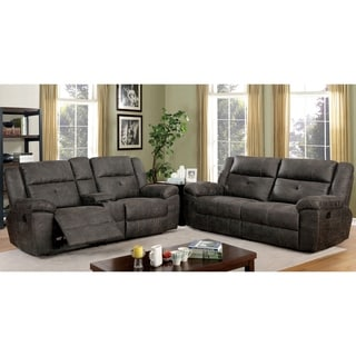 Copper Grove Feodosiya Dark Brown 2-piece Living Room Set