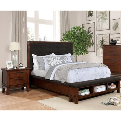 Cherry Finish, Rustic Bedroom Furniture | Find Great ...