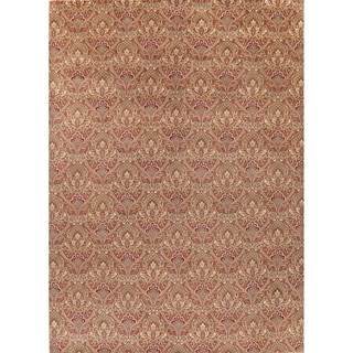 """Traditional Art & Craft Oriental Hand-Knotted Wool Indian Area Rug - 13'10"""" x 10'0"""""""