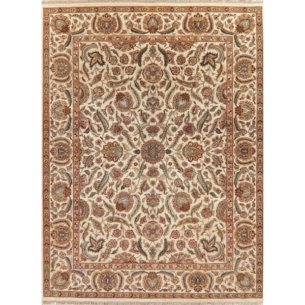 Hand Knotted Wool Traditional Indian