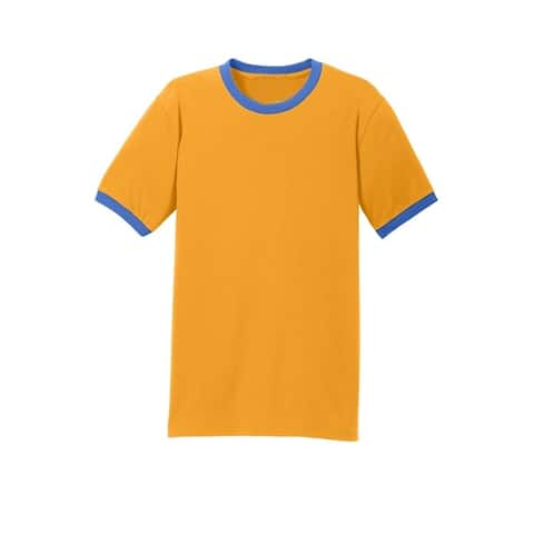 One Country United Men's Cotton Core Ringer Tee