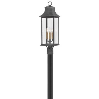 Link to Hinkley Adair 3-Light  in Aged Zinc Similar Items in Pier Mount Lights
