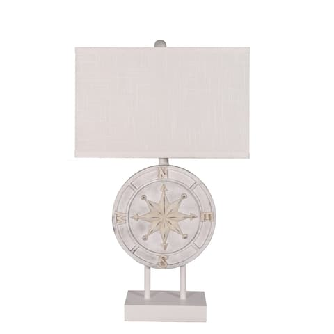 "27.5"" Coastal Compass Table Lamp"