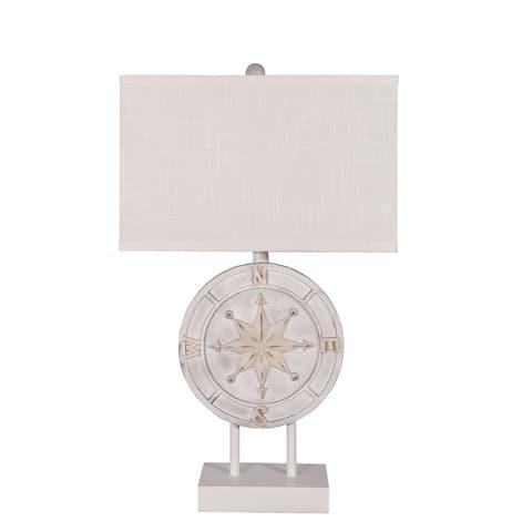 "27.5"" Coastal Compass Table Lamp"