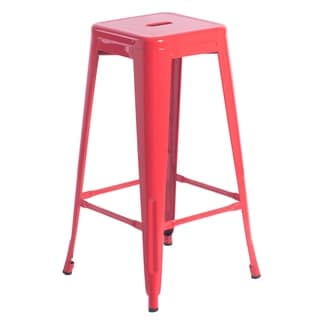 "Link to 30"" High Industrial Metal Bar Stools Similar Items in Dining Room & Bar Furniture"