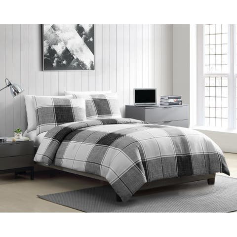 VCNY Home Brent Plaid Comforter Set