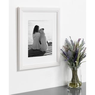 Link to DesignOvation Kieva 11x14 matted to 8x10 Wood Picture Frame, Set of 4 Similar Items in Decorative Accessories