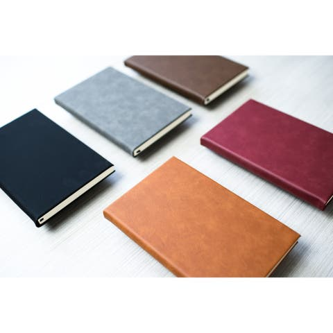 Caddy Bay Collection Vegan Leather Journal - 5 Colors