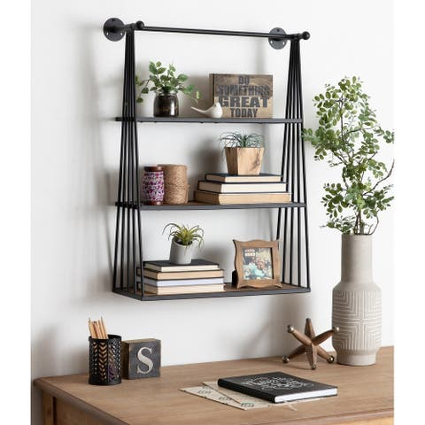 Carbon Loft Revell Wall-mounted Hanging Shelf