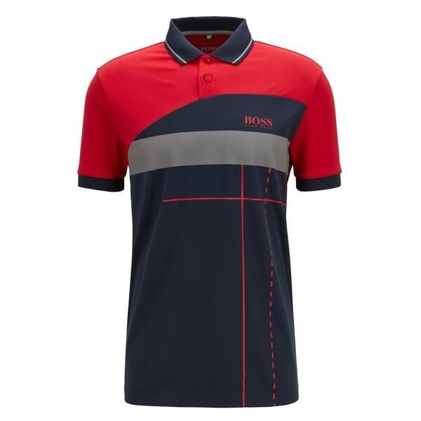 modischer Stil bestbewerteter Beamter exklusive Schuhe Shop Hugo Boss Martin Kaymer Regular-fit Golf Polo - Free ...